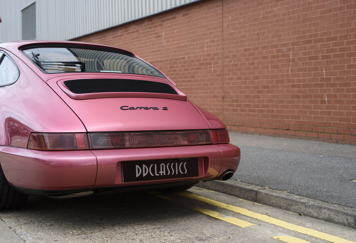 1994 Porsche 964 Carrera 2 (LHD) For Sale In London For Sale (picture 23 of 24)