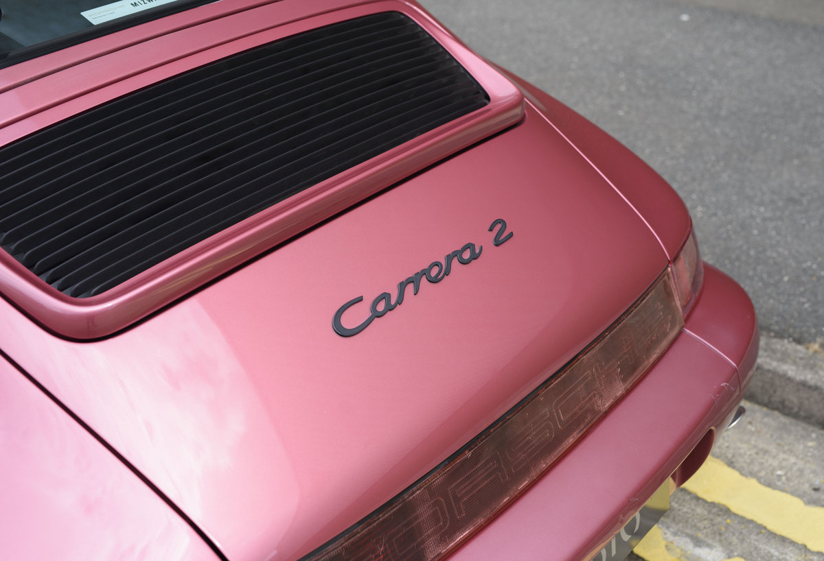 1994 Porsche 964 Carrera 2 (LHD) For Sale In London For Sale (picture 22 of 24)
