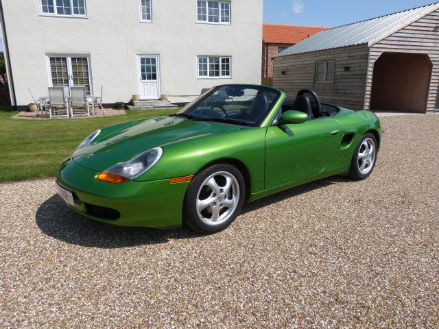 1999 Porsche 2 5 Boxster FSH Java Green Very Rare For Sale | Car And