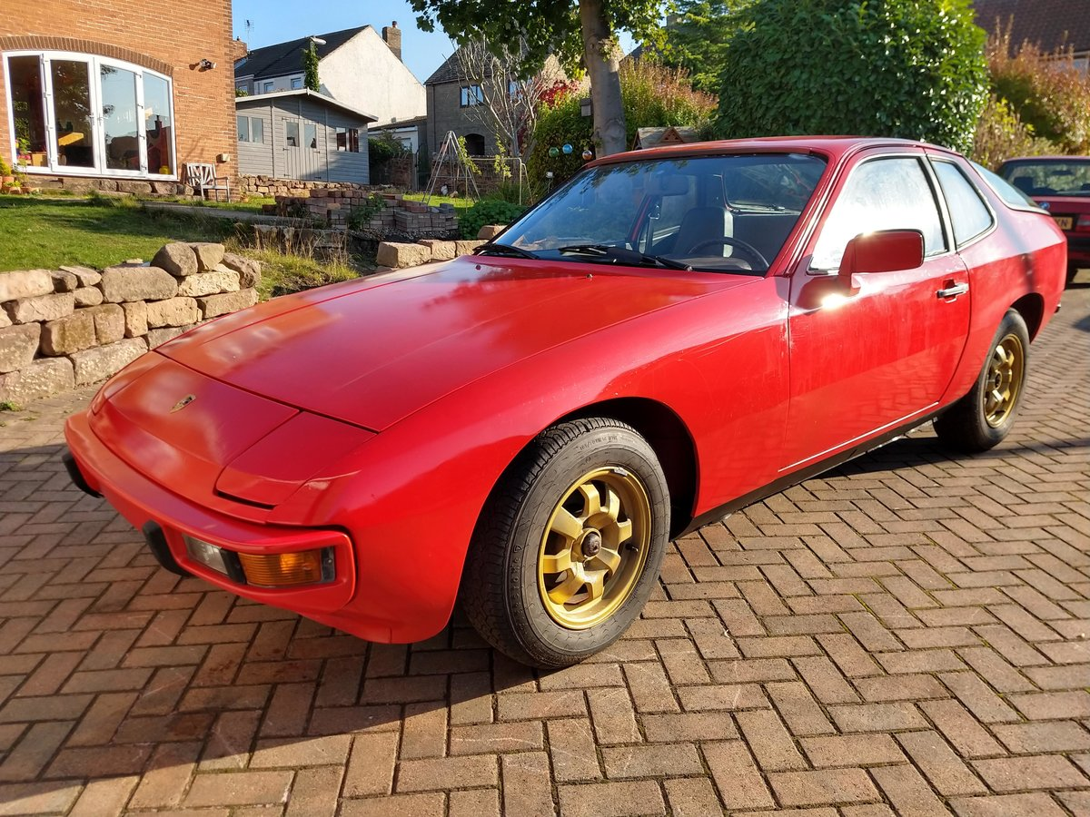 1978 Porsche 924  LHD Red, very low mileage For Sale (picture 1 of 6)