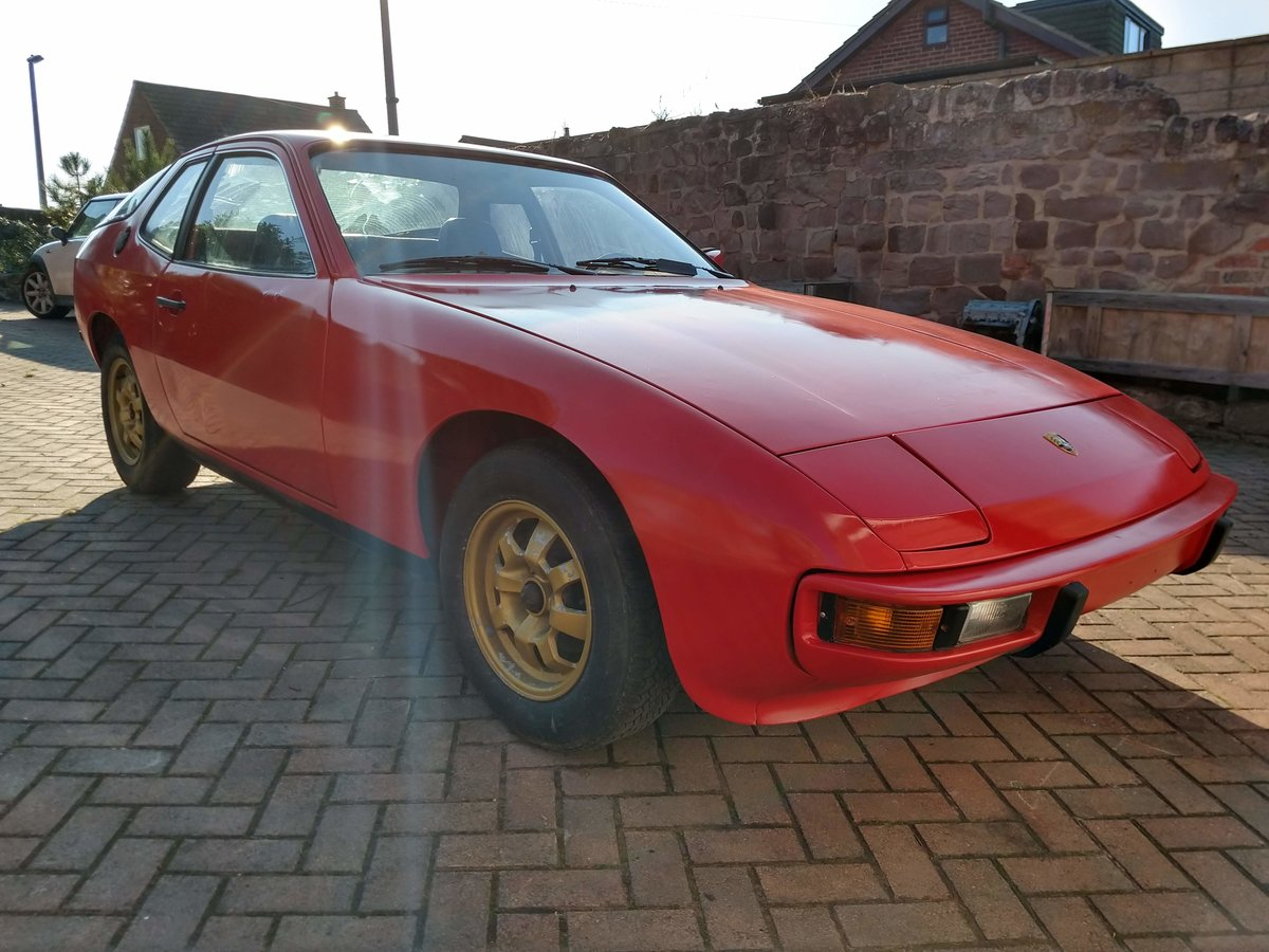 1978 Porsche 924  LHD Red, very low mileage For Sale (picture 6 of 6)