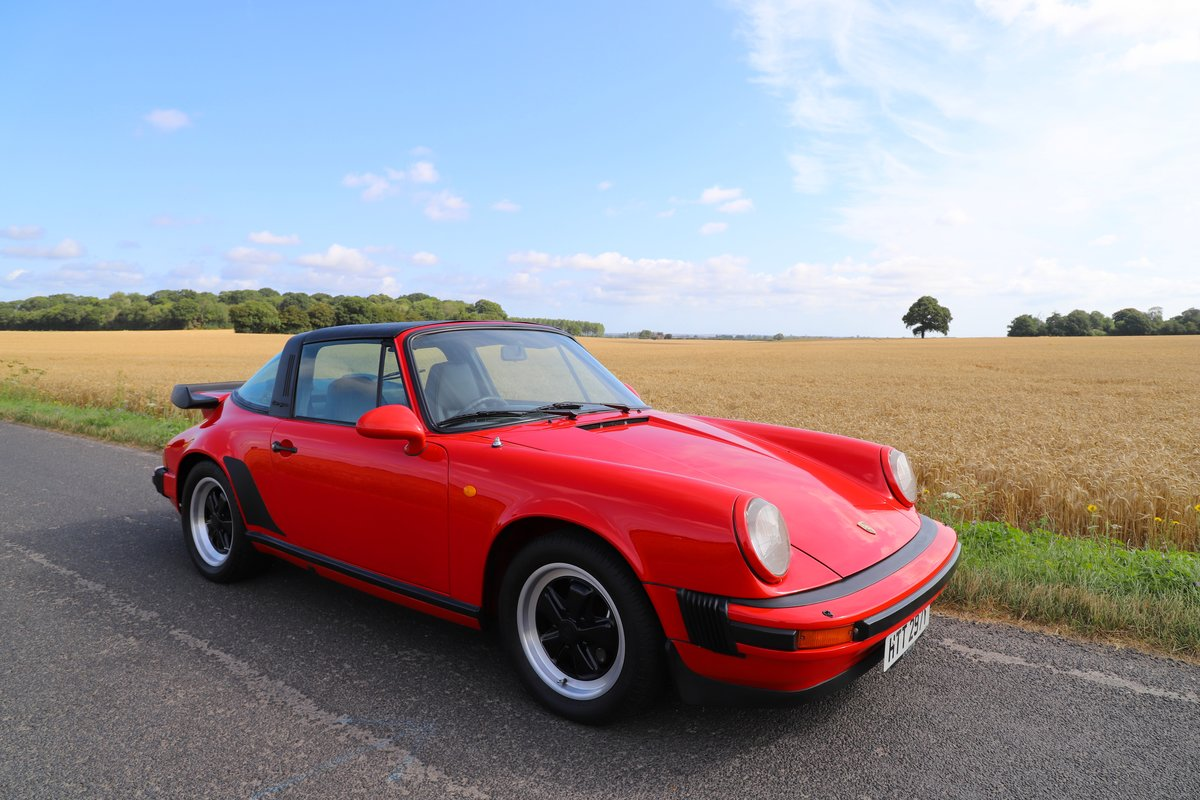 Porsche 911 SC Sport Targa, 1982. Guards Red SOLD (picture 1 of 6)