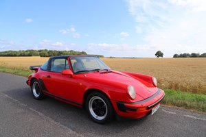 Porsche 911 SC Sport Targa, 1982. Guards Red SOLD