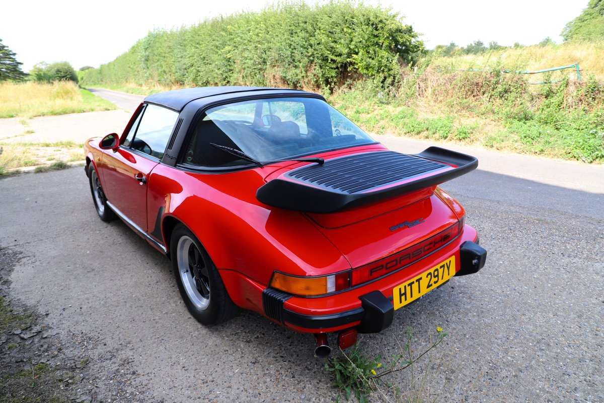 Porsche 911 SC Sport Targa, 1982. Guards Red SOLD (picture 2 of 6)