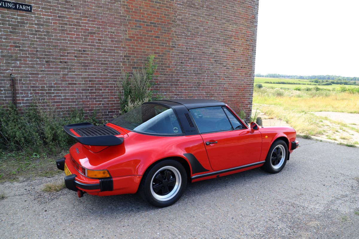 Porsche 911 SC Sport Targa, 1982. Guards Red SOLD (picture 3 of 6)