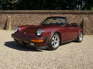 Porsche 911 3.2 Cabrio 3 owners from new For Sale