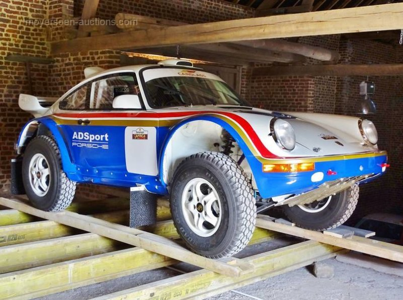 PORSCHE 964 4x4 DAKAR  For Sale by Auction (picture 1 of 6)