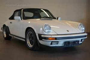 1985 PORSCHE 911 3.2 Carrera Cabrio For Sale by Auction