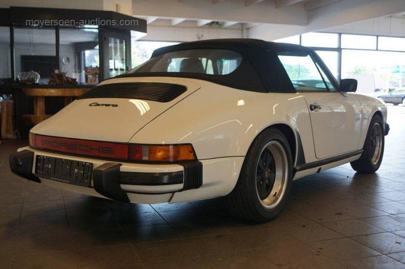 1985 PORSCHE 911 3.2 Carrera Cabrio For Sale by Auction (picture 4 of 6)