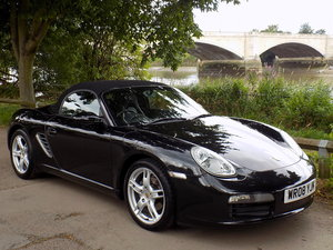 2008 PORSCHE BOXSTER 2.7 MANUAL SOLD
