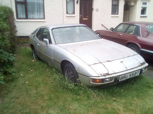 1979 Porsche 924 40 years old Bargain
