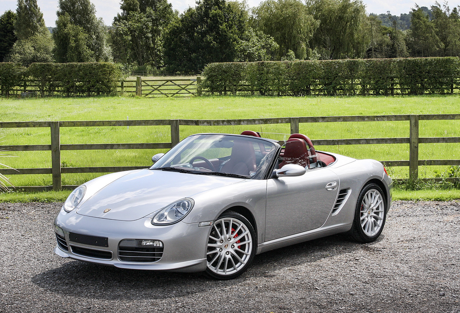2008 Porsche Boxster RS60 Spyder For Sale (picture 1 of 6)