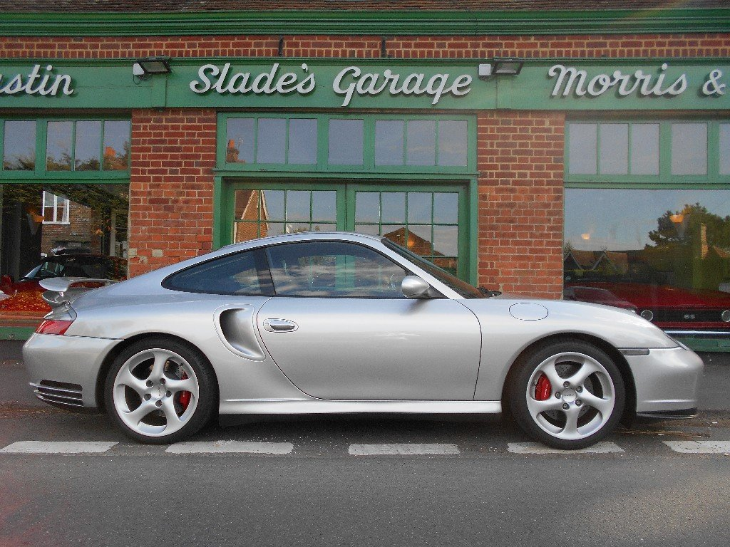 2001 Porsche 911 Turbo Coupe Manual  SOLD (picture 1 of 4)