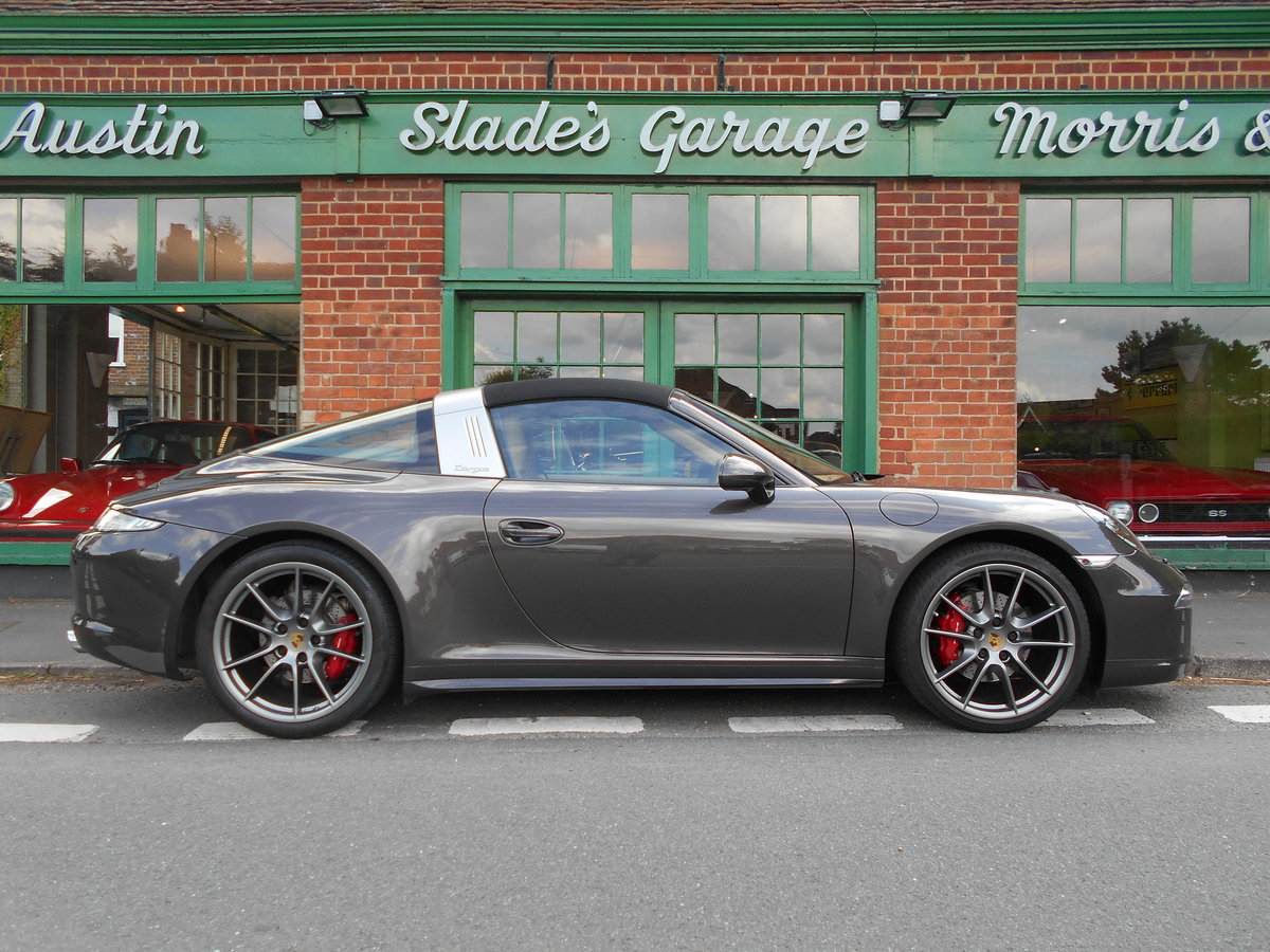 2015 Porsche 911 Targa 4 PDK  SOLD (picture 1 of 4)