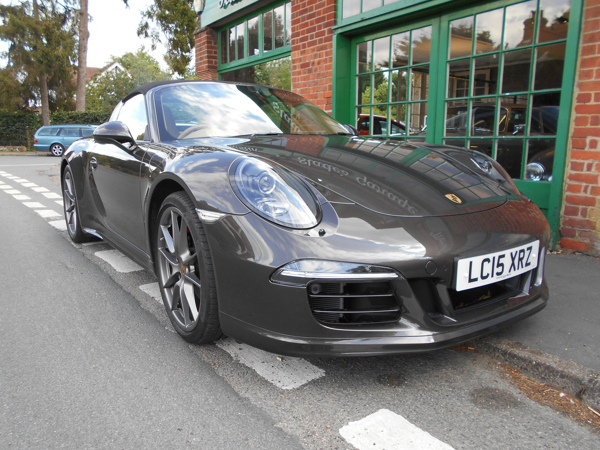 2015 Porsche 911 Targa 4 PDK  SOLD (picture 2 of 4)