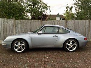 1996 Porsche 911 993 carrera 2 3.6 manual silver