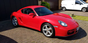 2006 Red Porsche Cayman - 52K miles/private plate For Sale