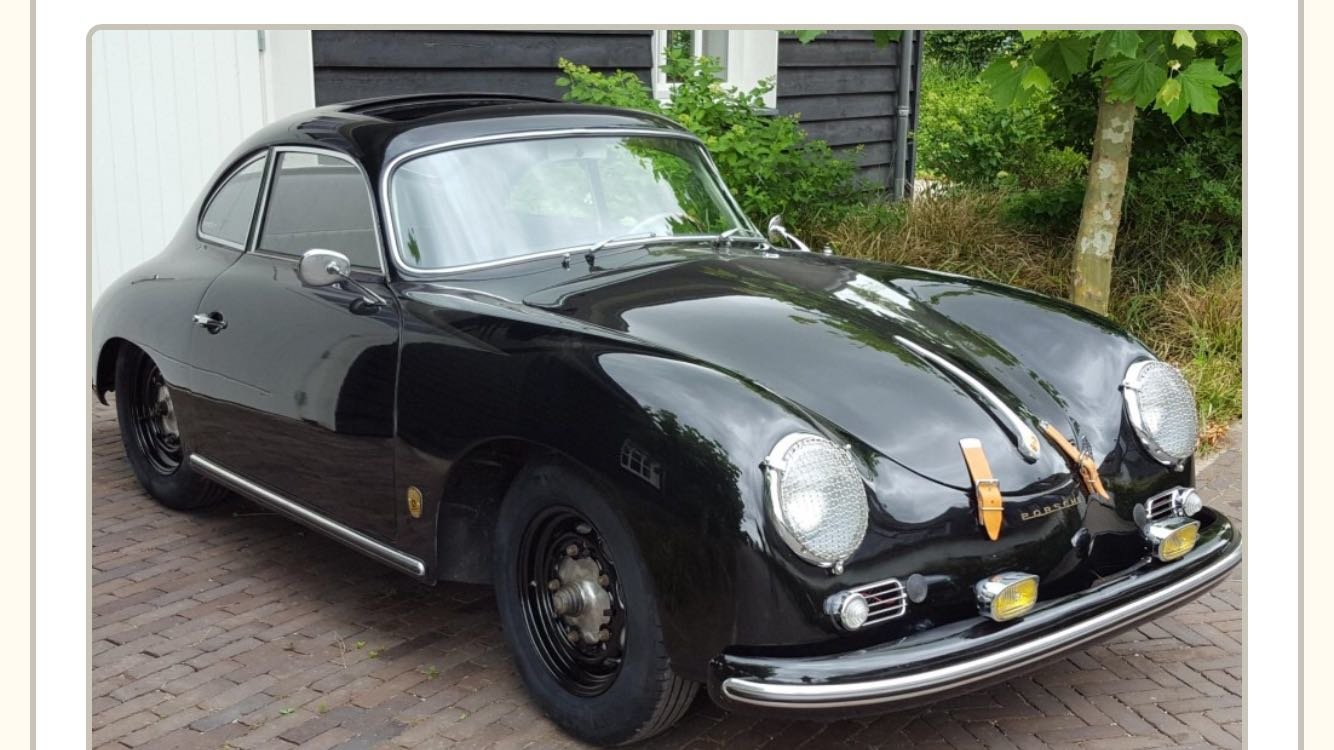 1957 Porsche 356 A For Sale (picture 1 of 4)