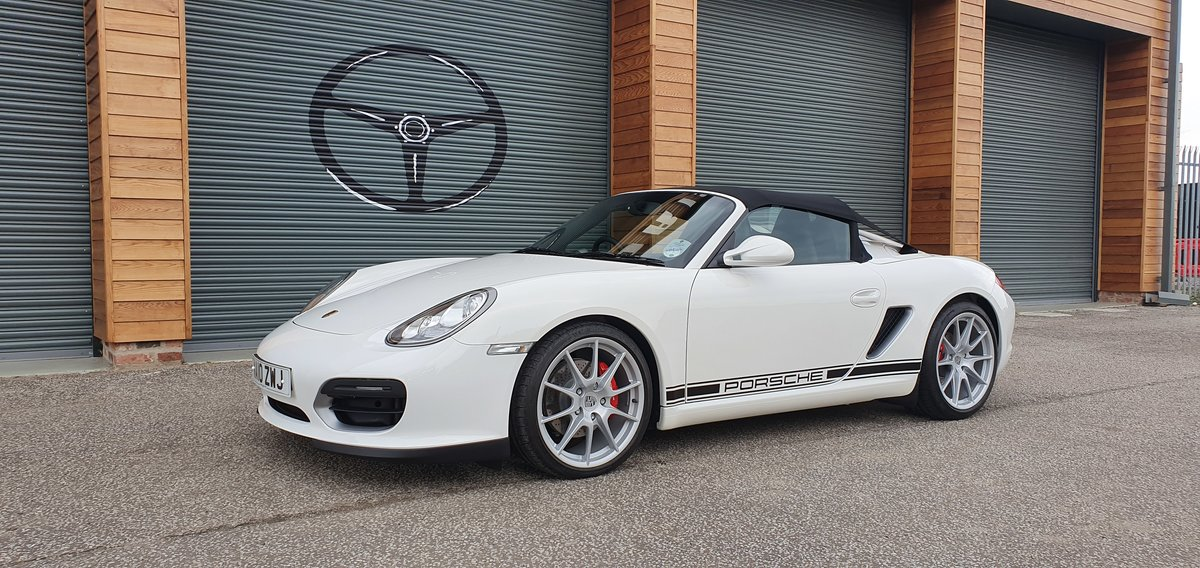 2010 Porsche Boxster Spyder 302 miles For Sale (picture 2 of 6)
