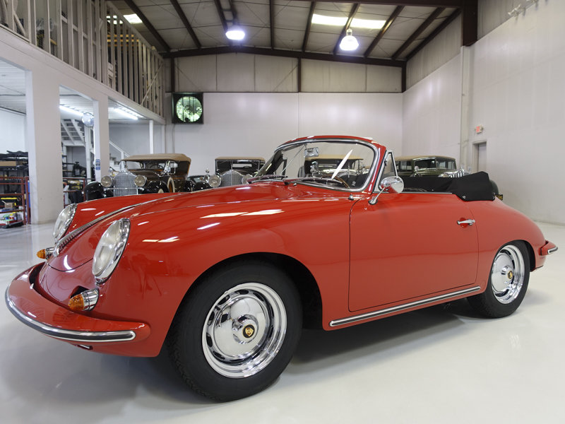1963 Porsche 356 B Carrera 2 GS Cabriolet For Sale (picture 1 of 6)