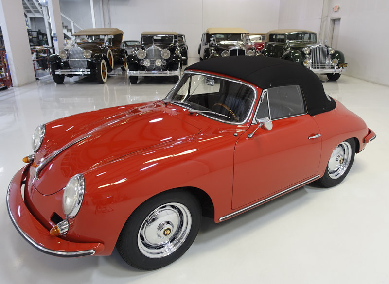 1963 Porsche 356 B Carrera 2 GS Cabriolet For Sale (picture 2 of 6)