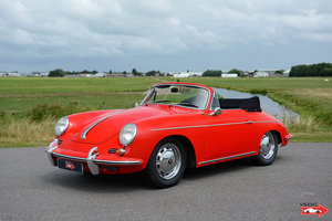 Porsche 356 B T6 1600 S Cabriolet 1962, drives very well For Sale
