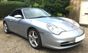 2002 Porsche 911 C4 All wheel drive Convertible. For Sale