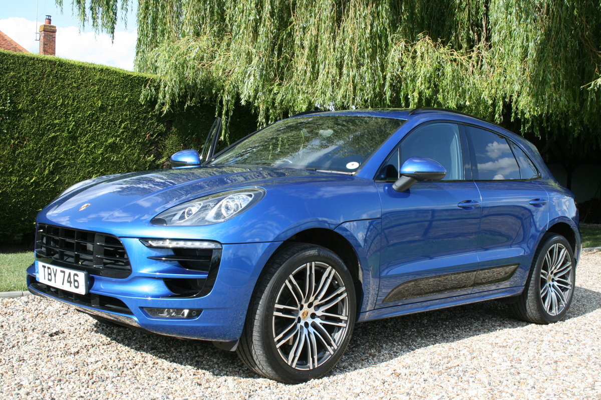 2015 Porsche Macan S 3.0 TD V6 AWD PDK Auto. High Specification. For Sale (picture 1 of 6)