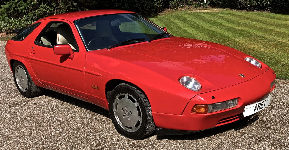 1990 PORSCHE 928 S4 GT COUPE AUTOMATIC For Sale (picture 1 of 6)
