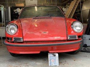 1973 Porsche 911T  Sepia Brown For Sale