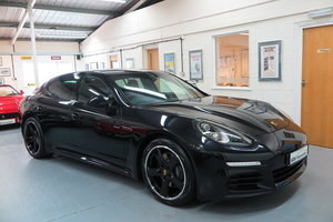 2015 15 Porsche Panamera 3.0TD ( 300bhp ) Tip - Jet Black For Sale