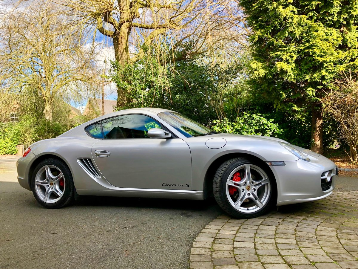 2007 Porsche 3.4 Cayman S (987.1) For Sale (picture 1 of 6)