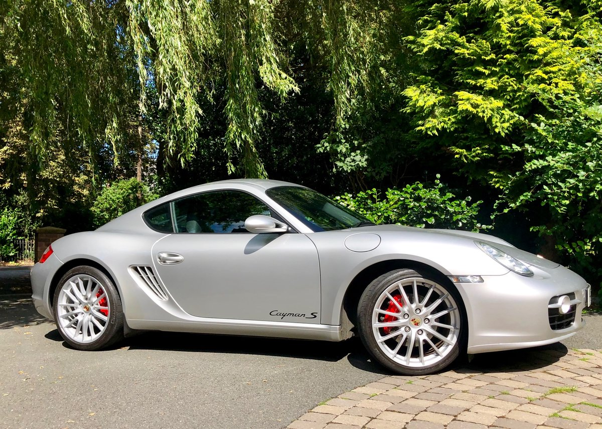 2007 Porsche 3.4 Cayman S (987.1) For Sale (picture 2 of 6)