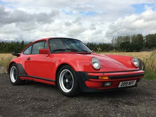 1987 Porsche 911 Coupe at Morris Leslie Auction 17th August SOLD by Auction (picture 1 of 6)