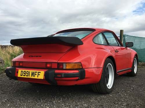 1987 Porsche 911 Coupe at Morris Leslie Auction 17th August SOLD by Auction (picture 2 of 6)