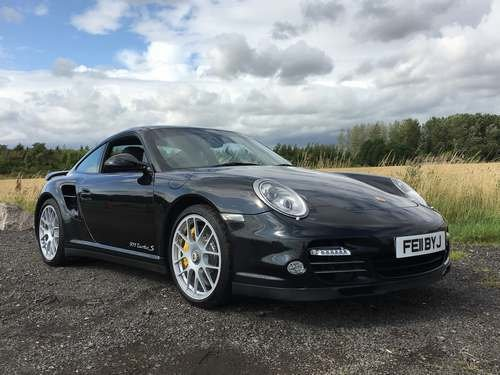 2011 Porsche 911 Turbo S S/A at Morris Leslie Auction 17th August SOLD by Auction (picture 1 of 6)
