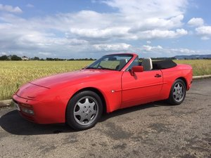 Picture of 1990 Porsche 944 S2 Convertible at Morris Leslie Auction 17th Aug SOLD by Auction