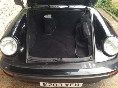 1987 Porsche Carrera Cabrio Super Sport at Morris Leslie 17th Aug SOLD by Auction (picture 2 of 6)