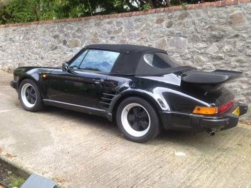 1987 Porsche Carrera Cabrio Super Sport at Morris Leslie 17th Aug SOLD by Auction (picture 6 of 6)
