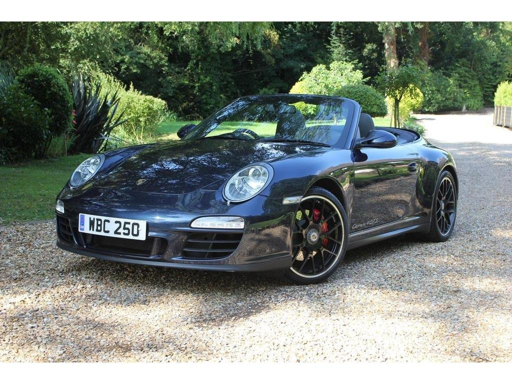 2011 Porsche 911 3.8 997 Carrera 4 GTS Cabriolet PDK AWD 2dr 18 M For Sale (picture 1 of 1)