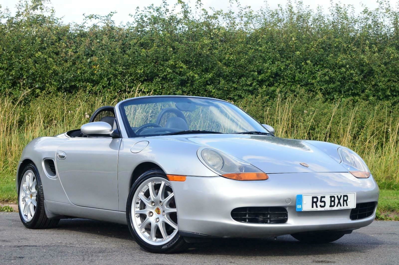 1998 Porsche Boxster 986 2.5 Manual Petrol Convertible F.S.H SOLD (picture 1 of 6)