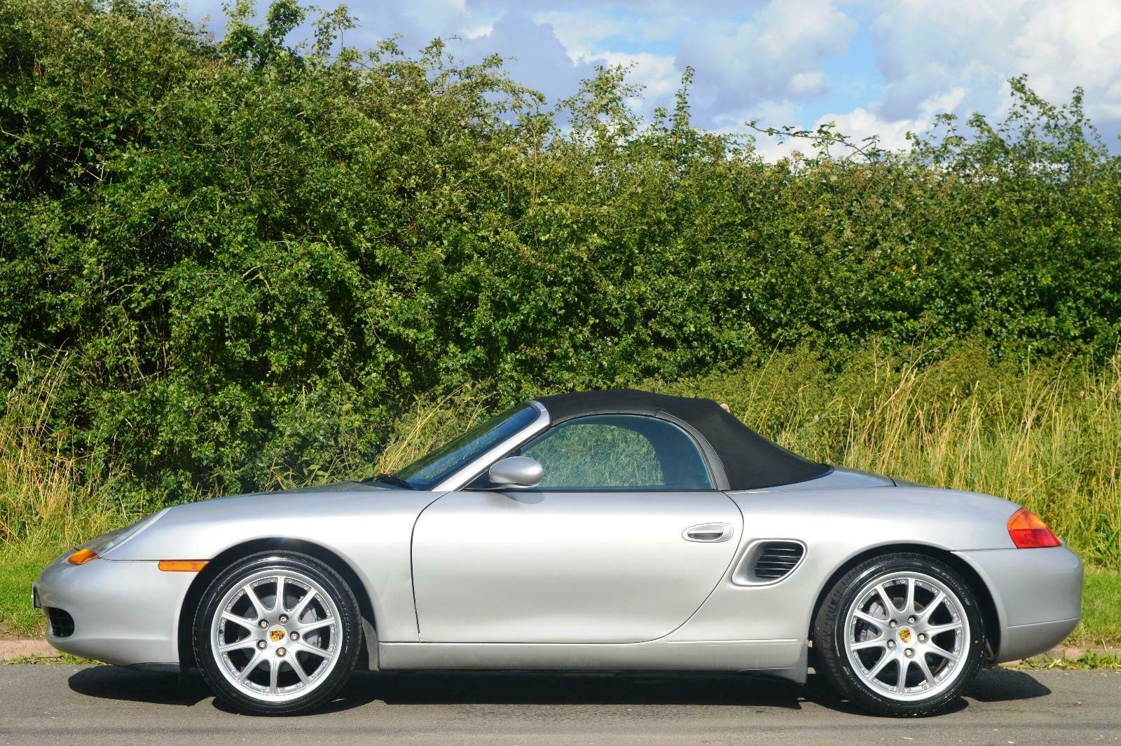 1998 Porsche Boxster 986 2.5 Manual Petrol Convertible F.S.H SOLD (picture 3 of 6)