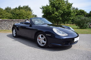 2002 02/52 Porsche Boxster 2.7 Manual - 32k - 4 owners