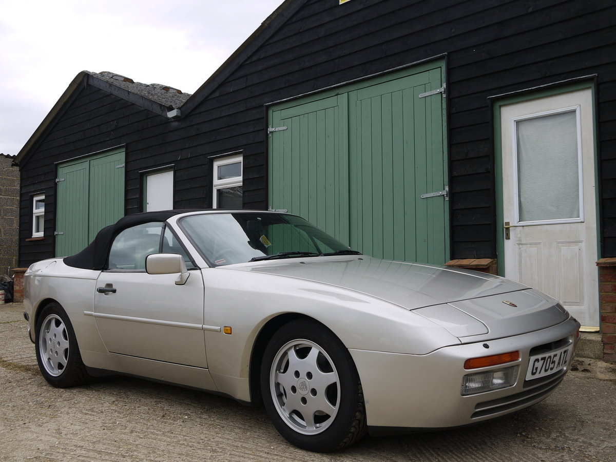 1989 PORSCHE 944 3.0 S2 CONVERTIBLE - 89K MILES !! For Sale (picture 1 of 6)