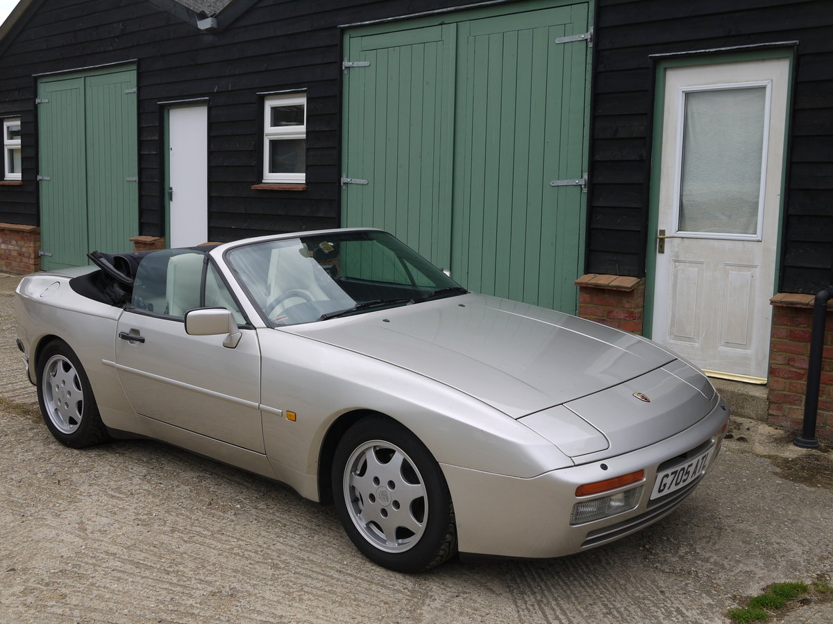 1989 PORSCHE 944 3.0 S2 CONVERTIBLE - 89K MILES !! For Sale (picture 2 of 6)
