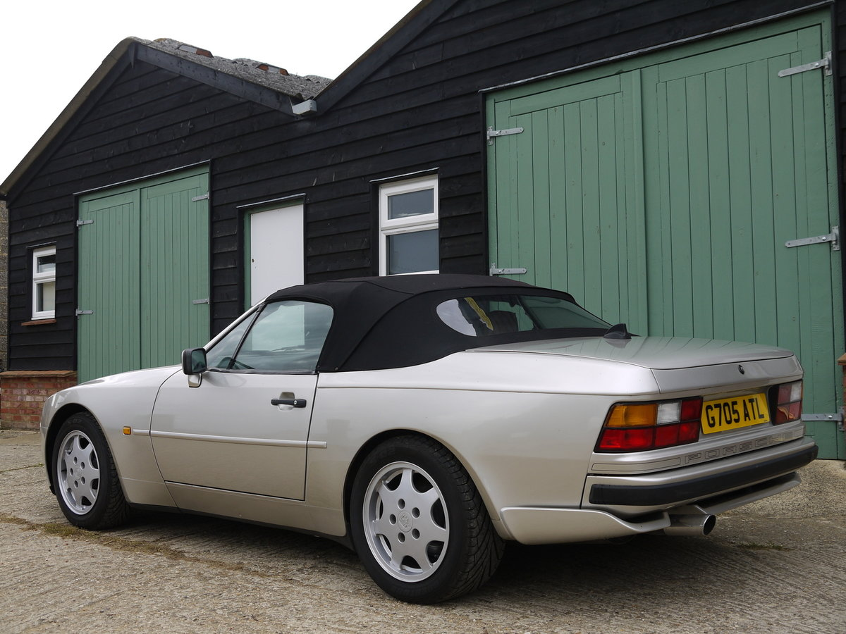 1989 PORSCHE 944 3.0 S2 CONVERTIBLE - 89K MILES !! For Sale (picture 3 of 6)