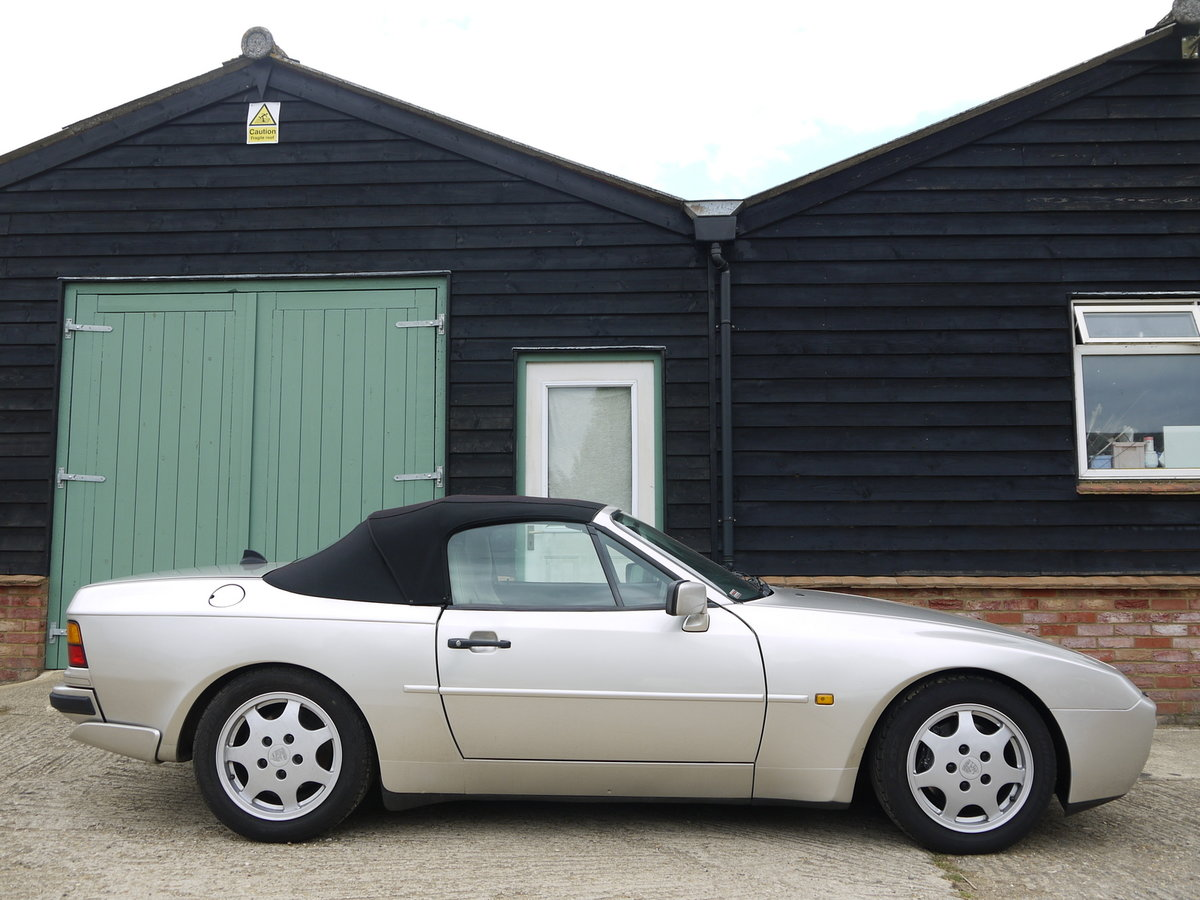 1989 PORSCHE 944 3.0 S2 CONVERTIBLE - 89K MILES !! For Sale (picture 4 of 6)