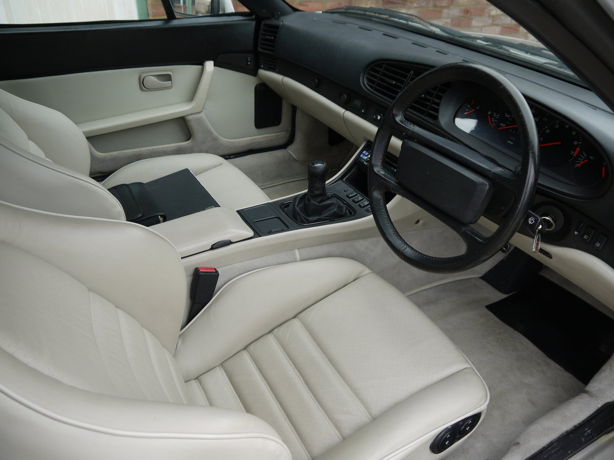 1989 PORSCHE 944 3.0 S2 CONVERTIBLE - 89K MILES !! For Sale (picture 5 of 6)