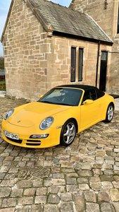 2007 Porsche Carrera 911  yellow manual