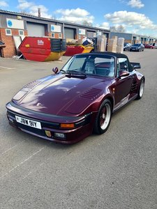 1983 Porsche 930 3.3L Turbo supplied with SE flat nose